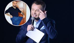 Tomasz Sekielski schudł 65 kg. Jarosław Kuźniar skomentował jego przemianę