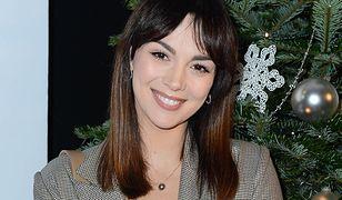 Paulina Krupińska-Karpiel opublikowała zdjęcie przy choince