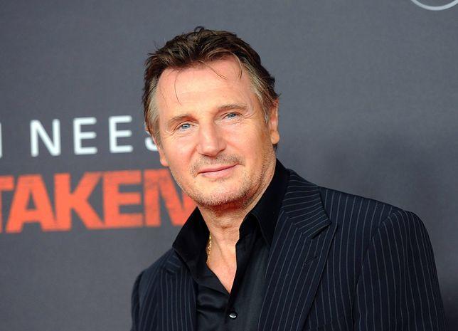 """Liam Neeson, który wcielił się m.in. w bohatera serii """"Uprowadzona"""", zaangażował się w spot PFN."""