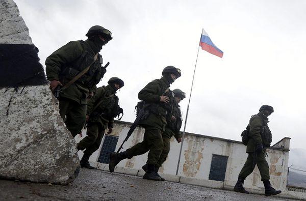 Uzbrojone siły w miejscowości Perewalne