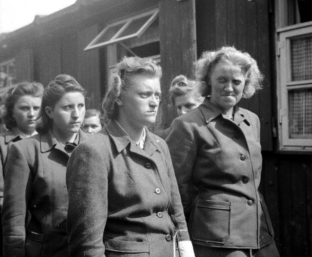 SS-manki z obozu koncentracyjnego Bergen-belsen