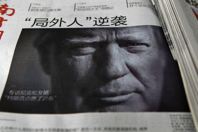 """""""''Outsider'' kontratakuje"""" - tak o Trumpie pisała chińska prasa tuż po wyborach"""