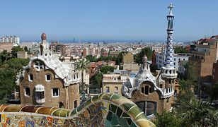Park Guell w Barcelonie.