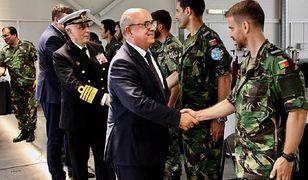 Z bazy wojskowej w Portugalii skradziono broń. Były minister obrony oskarżony