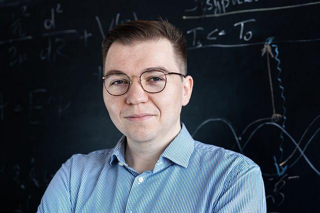 Dr hab. Michał Tomza, fizyk z Wydziału Fizyki Uniwersytetu Warszawskiego. (Fot. Mirosław Kaźmierczak)