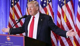 Donald Trump o rosyjskich dokumentach: to fałszywe newsy
