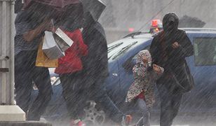 IMGW ostrzega przed ulewami na południu Polski