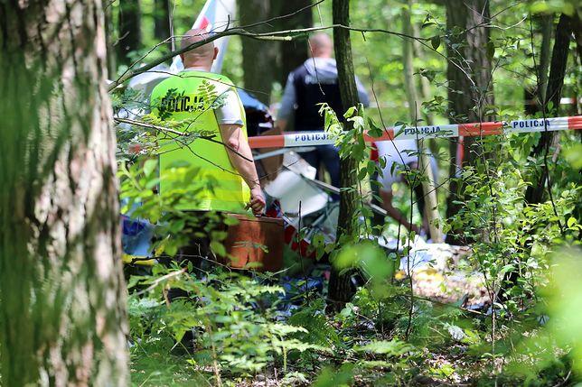 Policja zabezpiecza dowody (zdjęcie ilustracyjne)