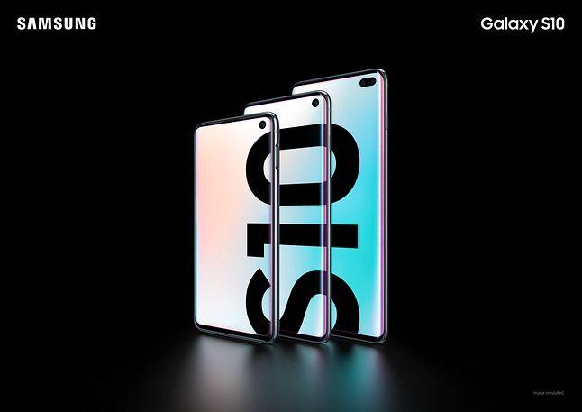 Samsung Galaxy S10 – wszystkie modele w serii, fot. materiały prasowe.