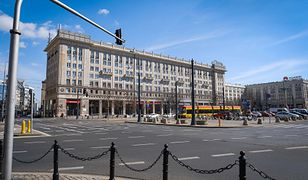 Warszawa. Protestujący zablokowali pl. Konstytucji [zdj. ilustracyjne]