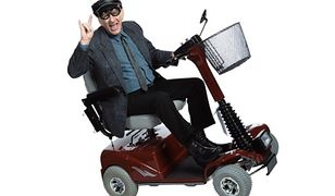 Bandyci na wózkach inwalidzkich