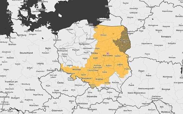 Gdzie jest burza? W Polsce zagrzmi. Ostrzeżenia IMGW. 10 województw objęte alertem 1. stopnia o burzach z gradem