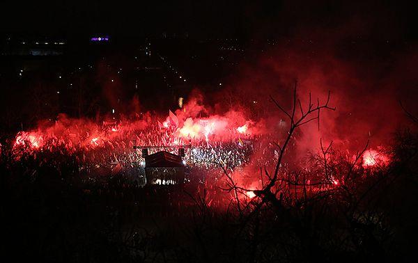 Marsz Niepodległości w 2013 r.