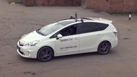 Yandex z własną autonomiczną taksówką, może być szybszy od Ubera