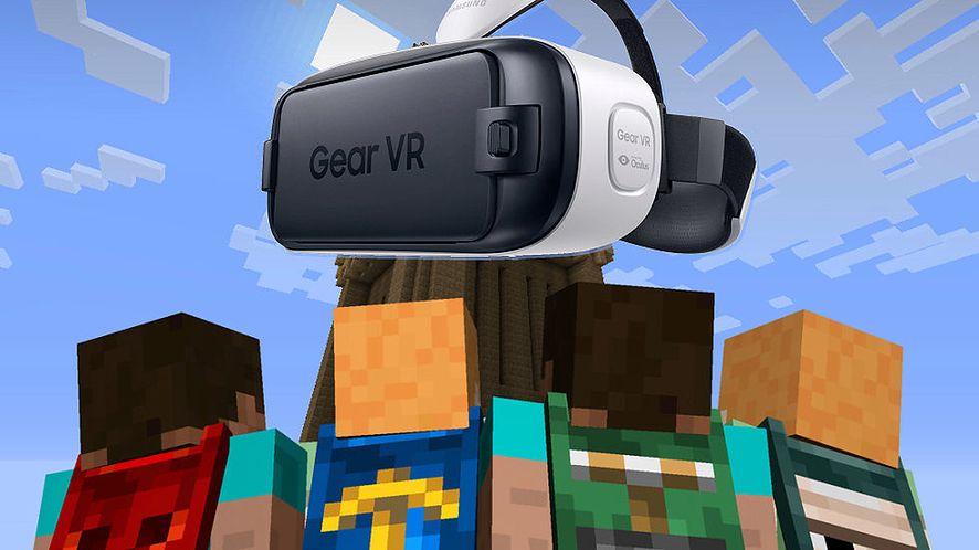 Oculus Rift z Minecraftem na debiut, nowe gogle Gear VR już w listopadzie