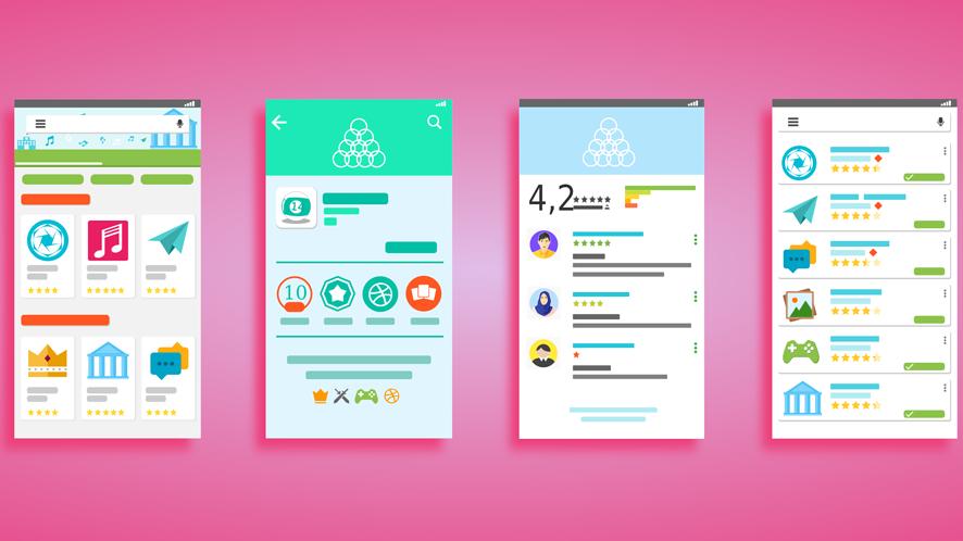 Google Play z nowym wyglądem. Sklep z aplikacjami będzie ładniejszy i czytelniejszy