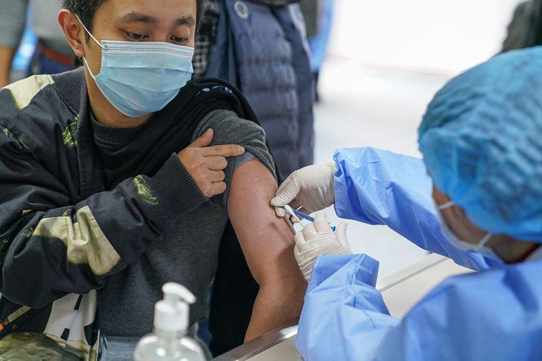 Koronawirus. Chiny mają swoją szczepionkę przeciwko COVID-19