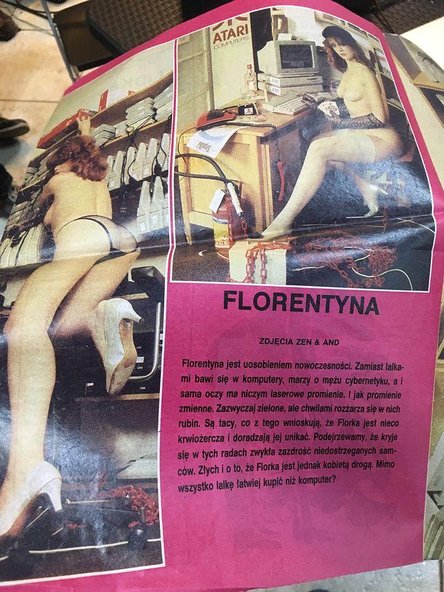 Kolega prosił o więcej zdjęć Florentyny, więc dodaję ;)