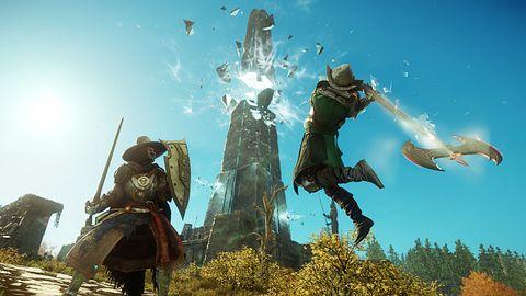 Otwarta beta New World. Zwiastun zaprezentowano na Gamescom 2021