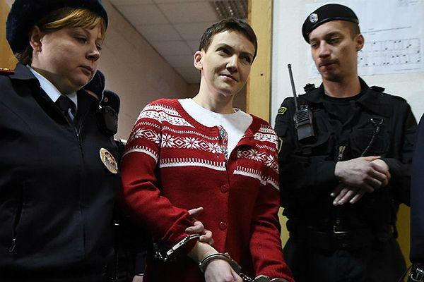 """Nadia Sawczenko domaga się procesu w Rosji. """"Niech cały świat zobaczy"""""""