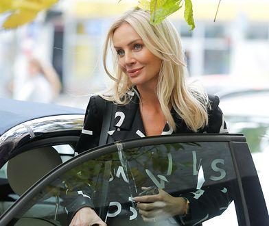 Takim autem jeździ Agnieszka Woźniak-Starak. Co za model