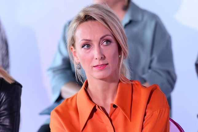 Anna Kalczyńska wspiera rodzinę zmarłego Piotra Woźniaka-Staraka.