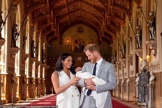 Harry, Meghan i Archie Harrison