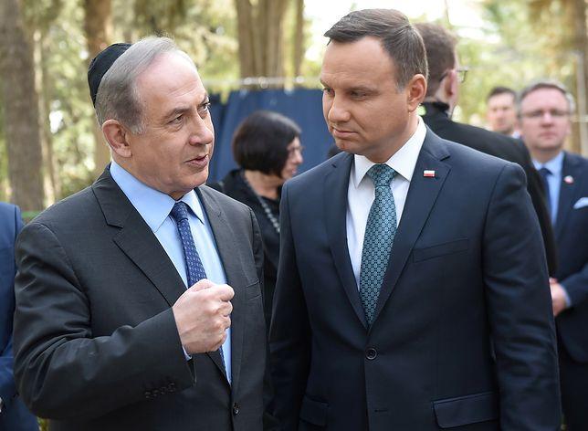 Benjamin Netanjahu i Andrzej Duda mają się spotkać we wtorek