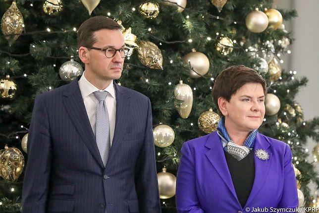 Mateusz Morawiecki odziedziczył po Beacie Szydło wszystkich ministrów.