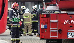 Czujniki strażaków zasygnalizowały zwiększoną obecność tlenku węgla. (zdjęcie ilustracyjne)