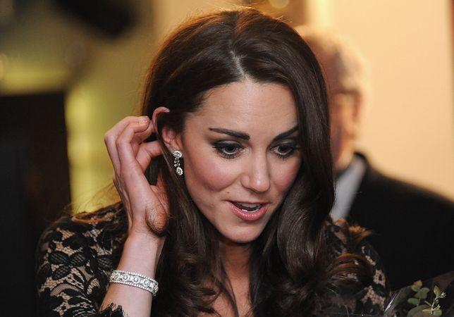 Kate w biżuterii od teścia