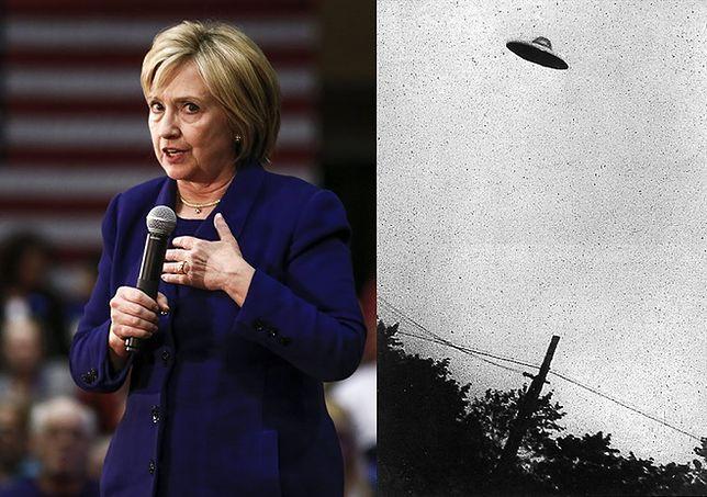 Hillary Clinton ujawni całą prawdę o UFO. Czyli... co dokładnie?
