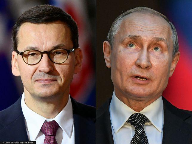 Władimir Putin nie pojawi się 10 kwietnia w Smoleńsku i nie spotka się z Mateuszem Morawieckim