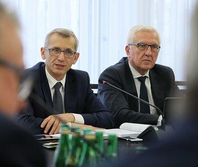 Senator Krzysztof Kwiatkowski, przewodniczący Komisji Ustawodawczej