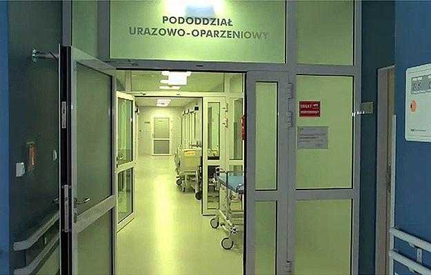 5-latek poparzony żrącą substancją w Olsztynie przeszedł operację
