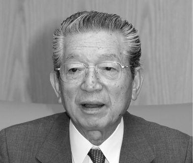 Kazuo Kashio był prezesem Casio Computers CO przez 27 lat.