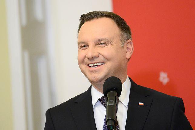 Wielki powrót Andrzeja Dudy. Internauci mu gratulują