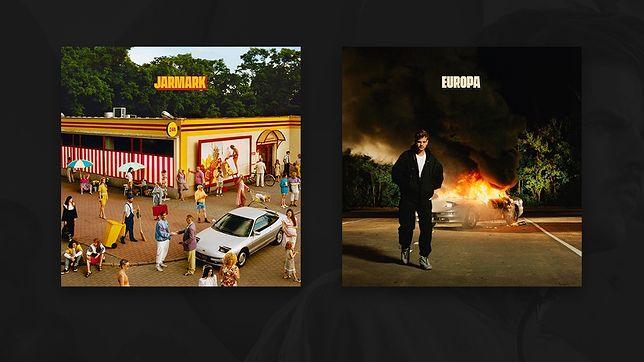 """Okładki albumów """"JARMARK"""" i """"EUROPA"""""""