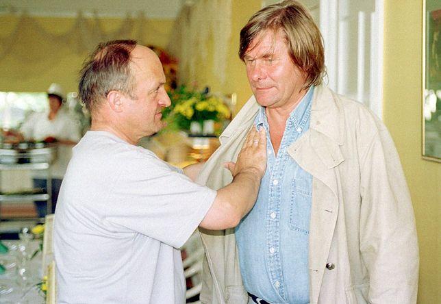 Zbigniew Nowak i reżyser Filip Bajon. Spotkali się na festiwalu w Międzyzdrojach.