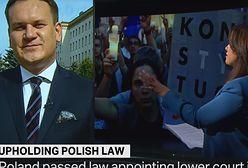 """Tarczyński w tureckiej telewizji: """"PO strzelała do protestujących"""""""