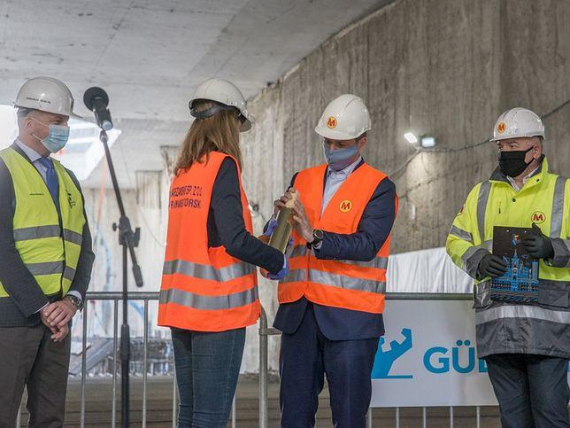 Warszawa. Prace na budowie metra mogą się opóźnić