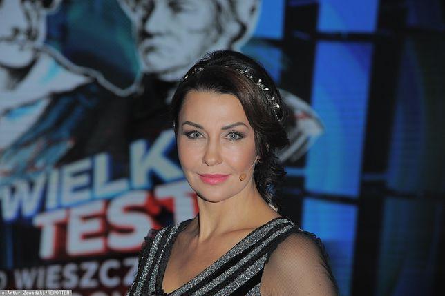 Anna Popek jako Pani Mikołajowa. Trudno oderwać od niej wzrok!