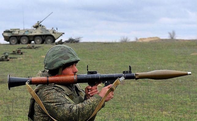 Strzały na wschodniej Ukrainie. Separatyści użyli wyrzutni rakietowych