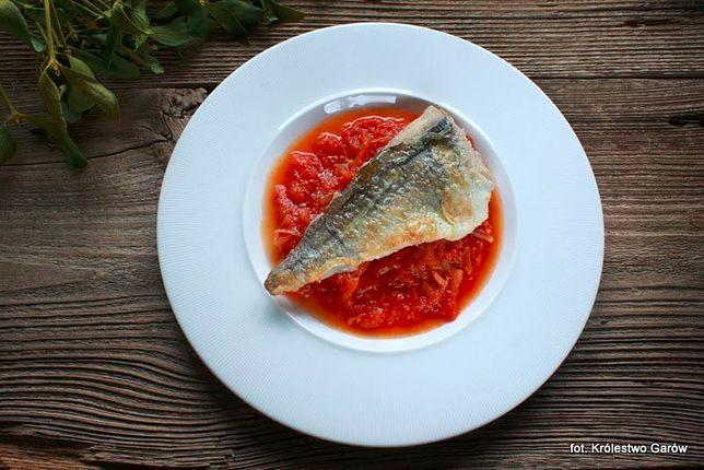 Ryba na piątek: dorsz w pomidorach