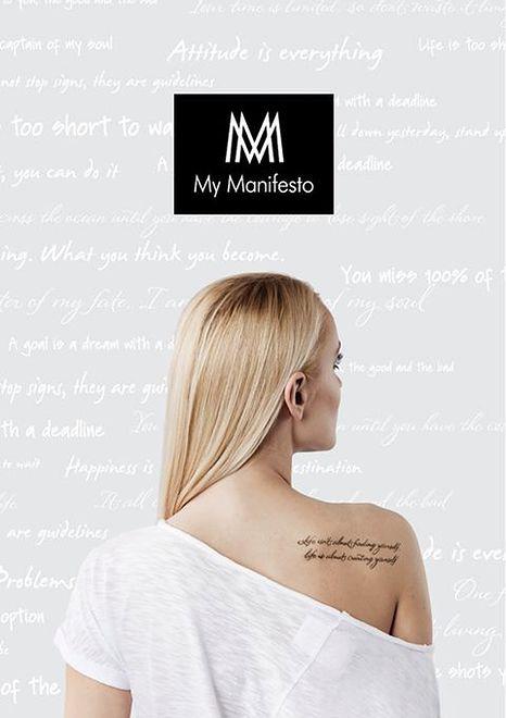 My Manifesto – ubrania dopasowane do osobowości