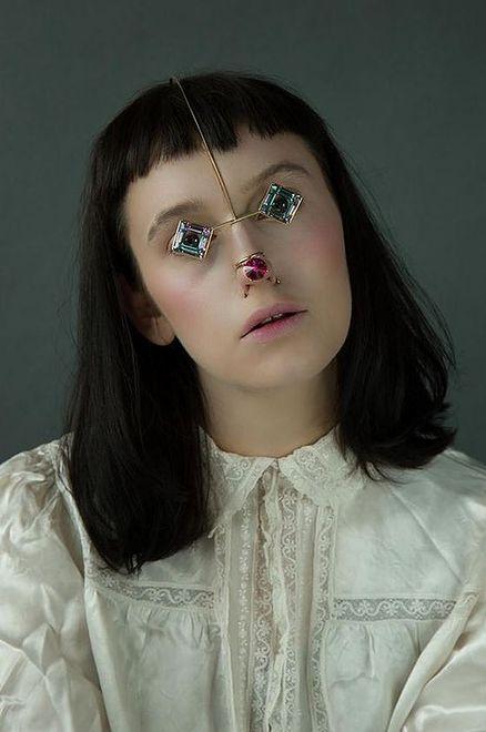 Biżuteria na twarz