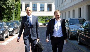 Michał Tusk zeznawał w Prokuraturze. Nie wie, dlaczego firma potraktowała go wyjątkowo