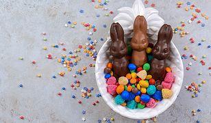 Podczas Wielkanocy zajadamy się smacznymi, czekoladowymi zającami