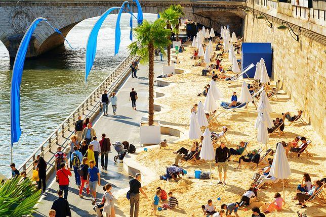 Plaże miejskie - Paryż