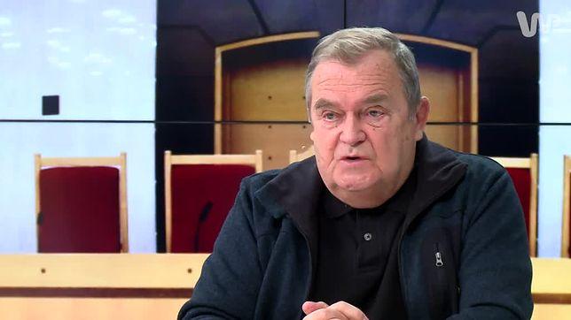 Wiesław Johann do Moniki Olejnik: spodziewała się pani, że będę wszystkiemu przyklaskiwać? Otóż nie